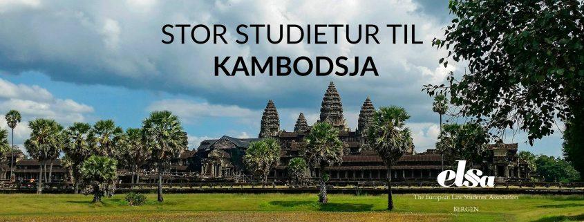 Bli med ELSA Bergen til Kambodsja.