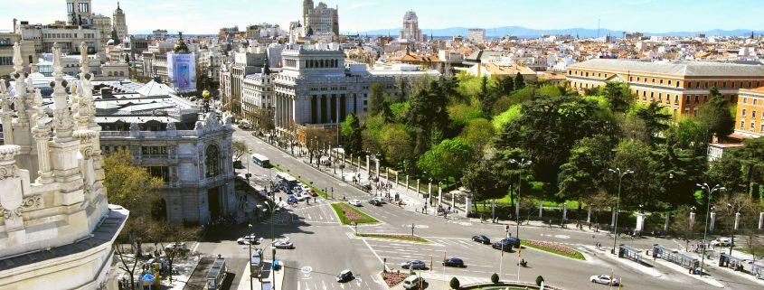Liten studietur til Madrid