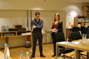 Deltakerne fikk mye muntlig trening både på norsk og engelsk.