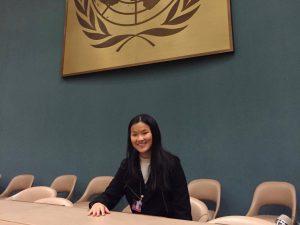 Helena kom tett på FNs barnekomité