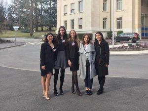 Fem delegater fra hele Europa.