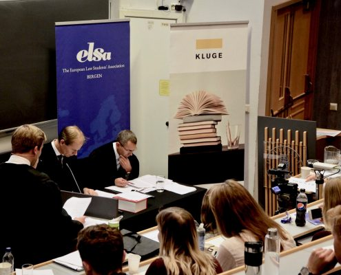 Bilde fra tidligere prosedyrekonkurranse. Alt er klart for semifinale! Foto: Haakon Dahle