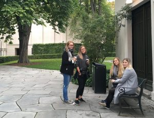 Deltakere fra Bergen på ELSAs landsmøte i Oslo.