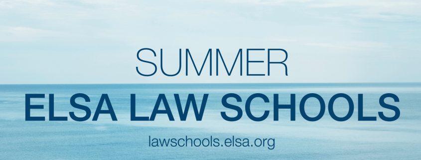 ELSA Summer Law Schools
